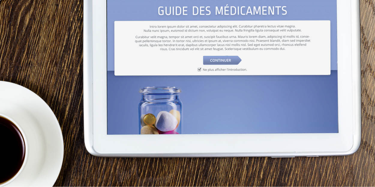 The Digital Guide des médicaments